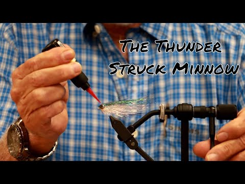 How To Tie The Thunderstruck Minnow For Beach Snook Fly Fishing