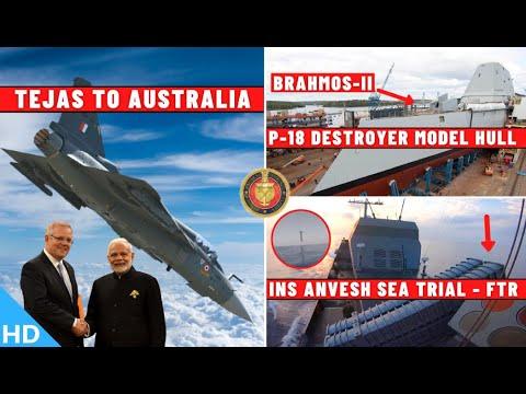 Indian Defence Updates : Tejas Sale Australia,P-18 Model Hul
