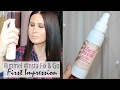 Rimmel #Insta FIX & GO Setting Spray | FIRST IMPRESSION