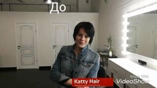 Наращивание волос на короткую стрижку и волосы
