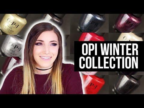 OPI Winter Nail Polish Collection (Love XOXO) Swatch and Review || KELLI MARISSA