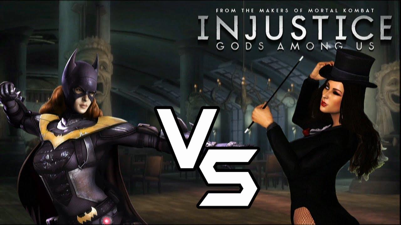 Injustice gods among us batgirl vs injustice dlc characters youtube voltagebd Gallery