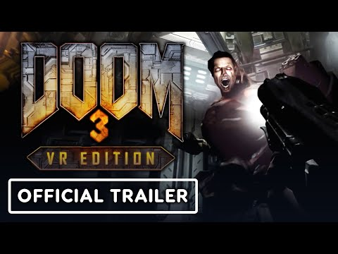 Doom 3: VR Edition - Official PSVR Launch Trailer