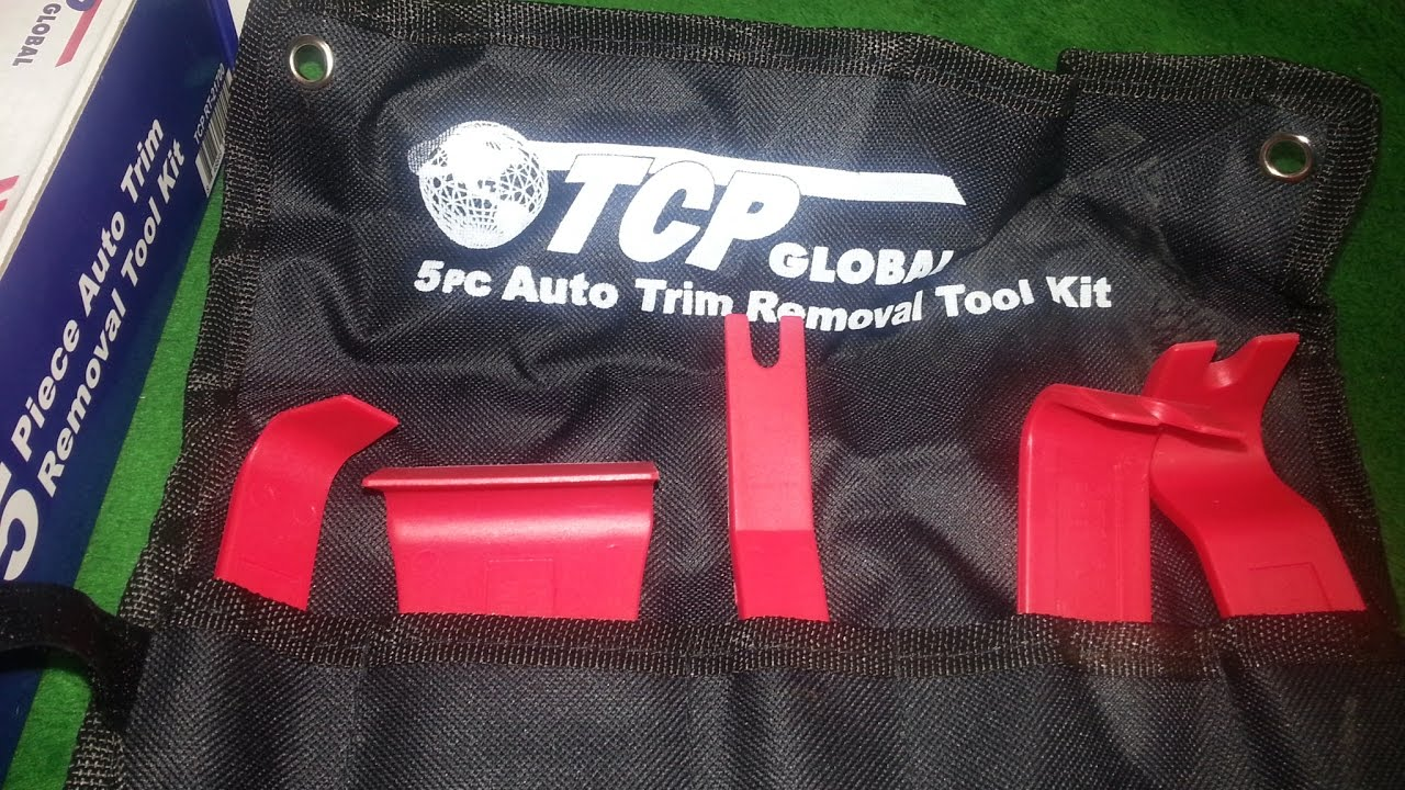 #tcpglobal TCP Global 5 Piece Auto Trim Removal Tool Kit Specialty Tools  For Installing and Removi