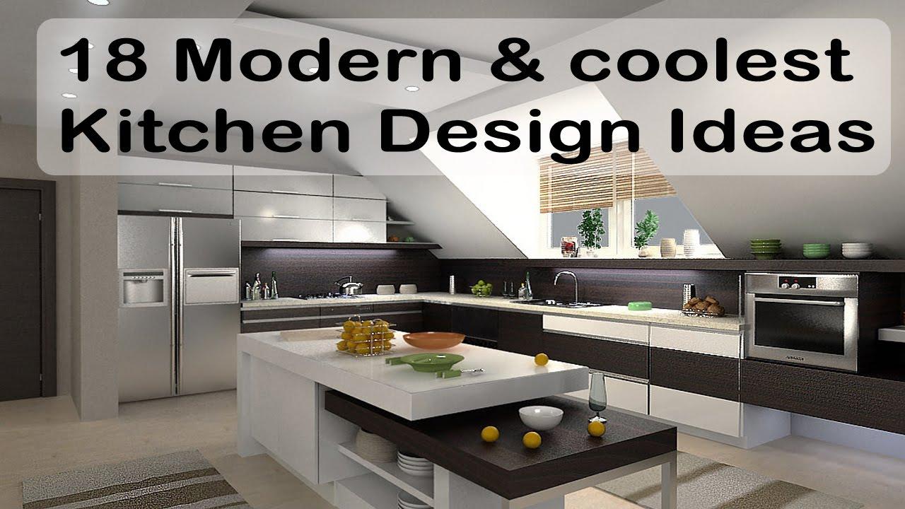 18 modern and coolest kitchen design ideas|kitchen island ... on Model Kitchen Ideas  id=55489