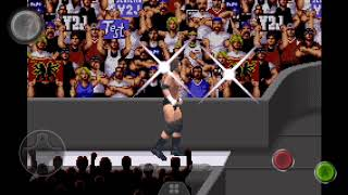 WWE Road To Wrestlemania X8 (GBA) The Rock & Triple H Entrances