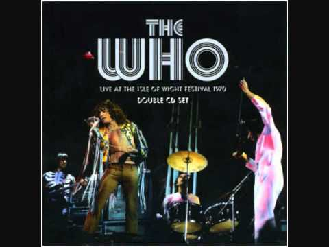 The Who - We're Not Gonna Take It - Live at the Isle of Wight