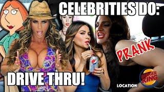 Celebrity Drive Thru PRANK! (Celebrities Do)