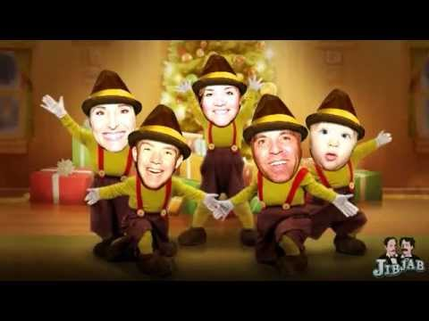Christmas Jib Jabs - Dastrup Family - YouTube
