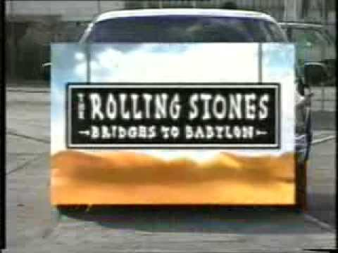 THE ROLLING STONES - MAKING OF BRIDGES TO BABYLON AND TOUR , ALBUMS AND SPANISH SPOT PUBLICITY/ TV.