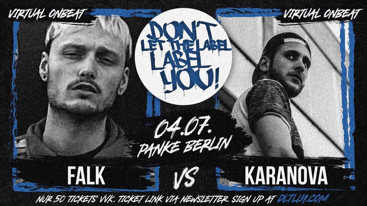 Falk vs Karanova // Virtual On-Beat Battle // DLTLLY