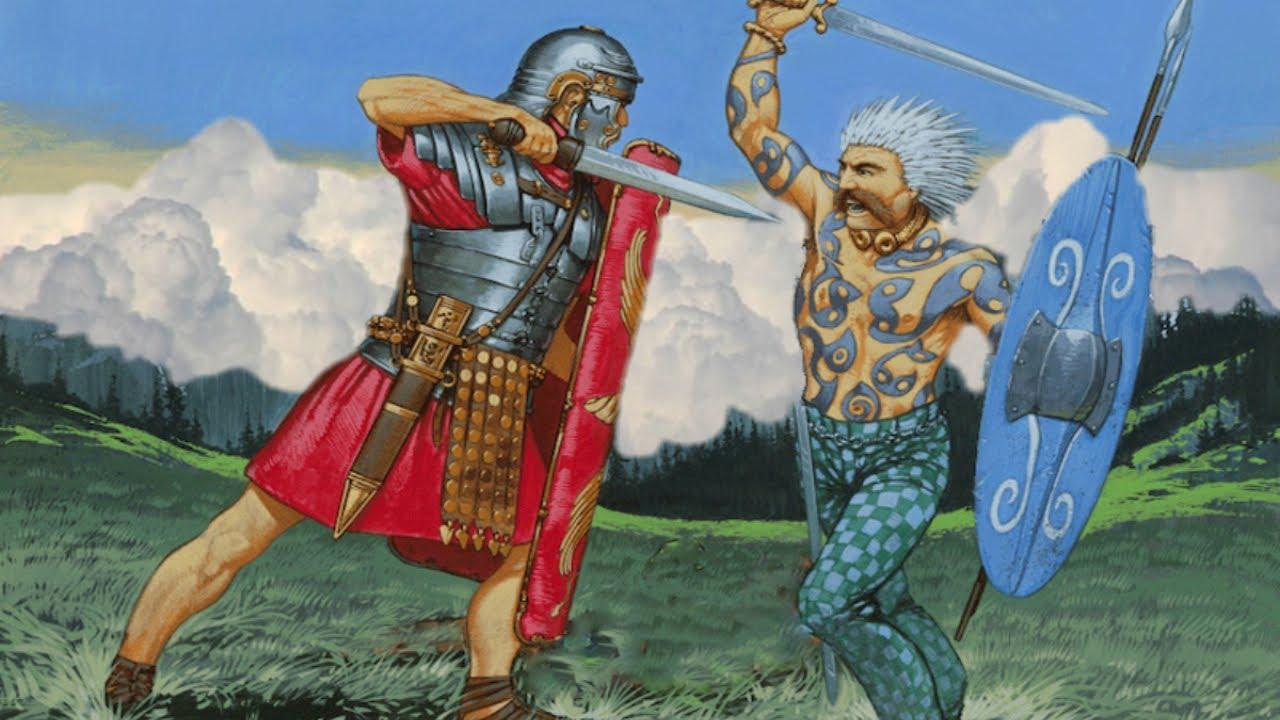 La battaglia dell'Aniene e di Porta Collina. Roma batte i Celti