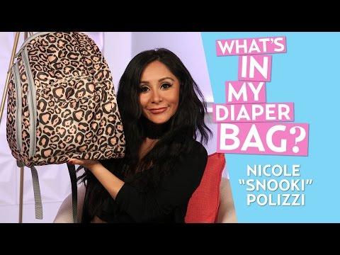 Nicole 'Snooki' Polizzi Reveals What's Inside Her Diaper Bag
