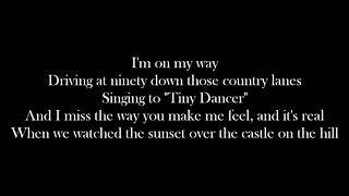 Castle on the Hill - Ed Sheeran (Lyrics)