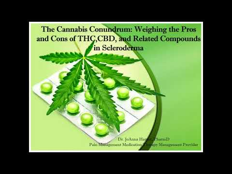 Cannabis Conundrum: Weighing the Pros & Cons of THC, CBD & Related Compounds; JoAnna Harper, PharmD