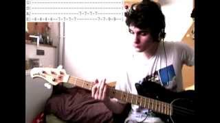 [ HQ] [Bass Cover + Solo + Tabs] The Kooks  - Sofa Song