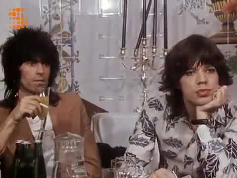 The Rolling Stones (Rare Interview) Mick Jagger and Keith Richards