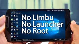 How to install windows 10 on android | Windows 10 on your android phone