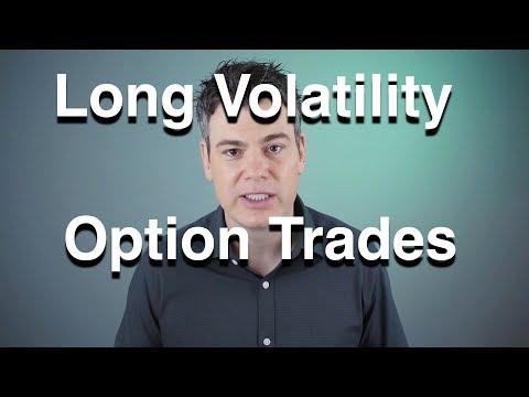 Long Volatility Option Trades  -  Straddle, Iron Condor, VXX