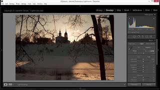 Как обработать зимний пейзаж в лайтрум?