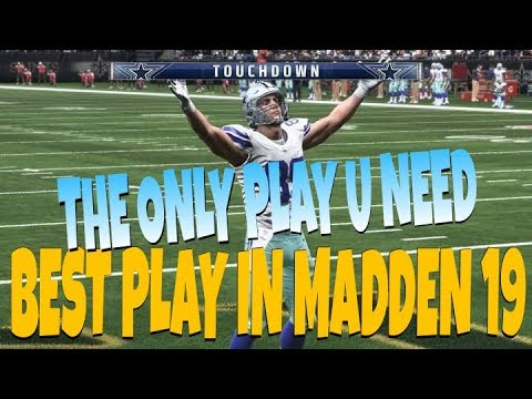 <b>CHEAT CODE</b> PASS PLAY! 1 PLAY OFFENSE MOST UNSTOPPABLE MONEY PLAY ...