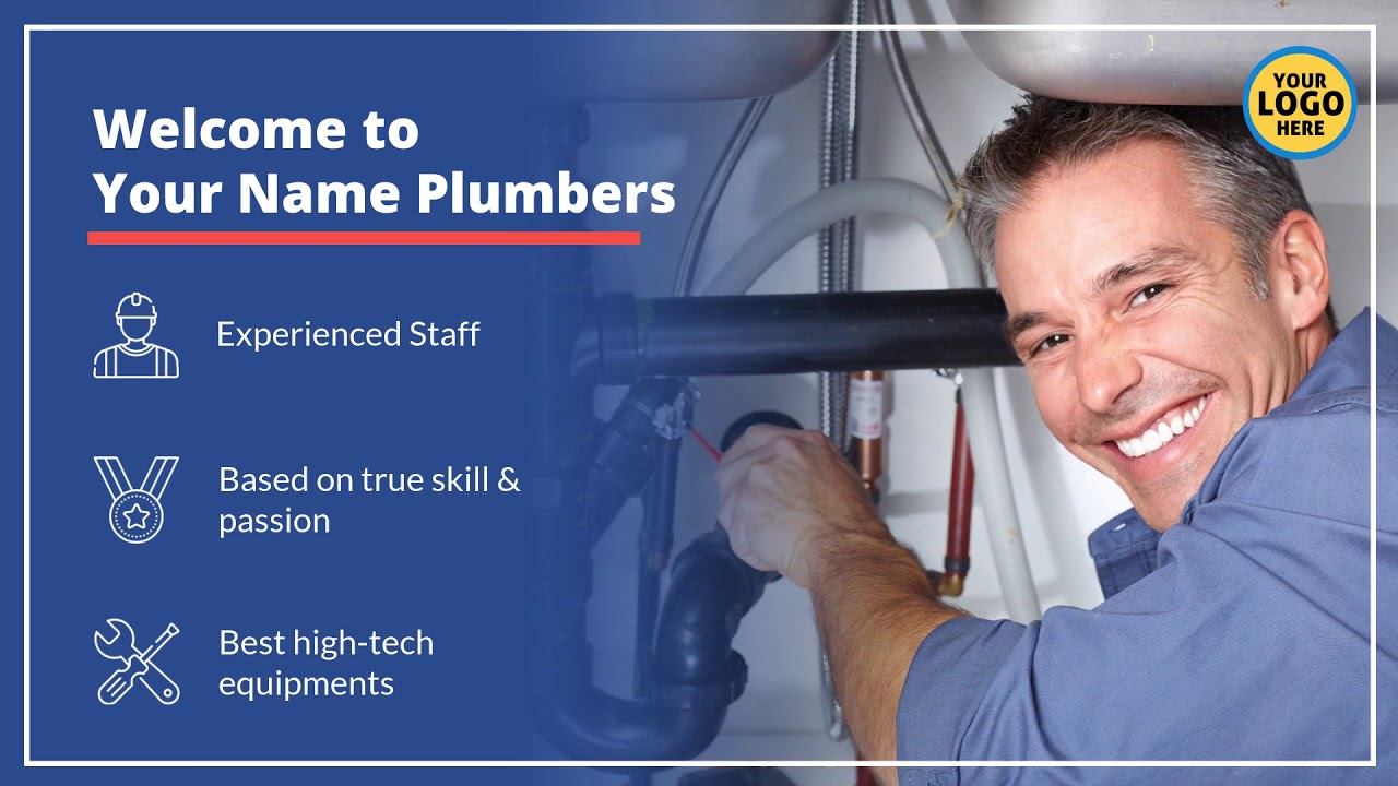 Plumber Services Video Plumbing Business Videos $97 Fully ...