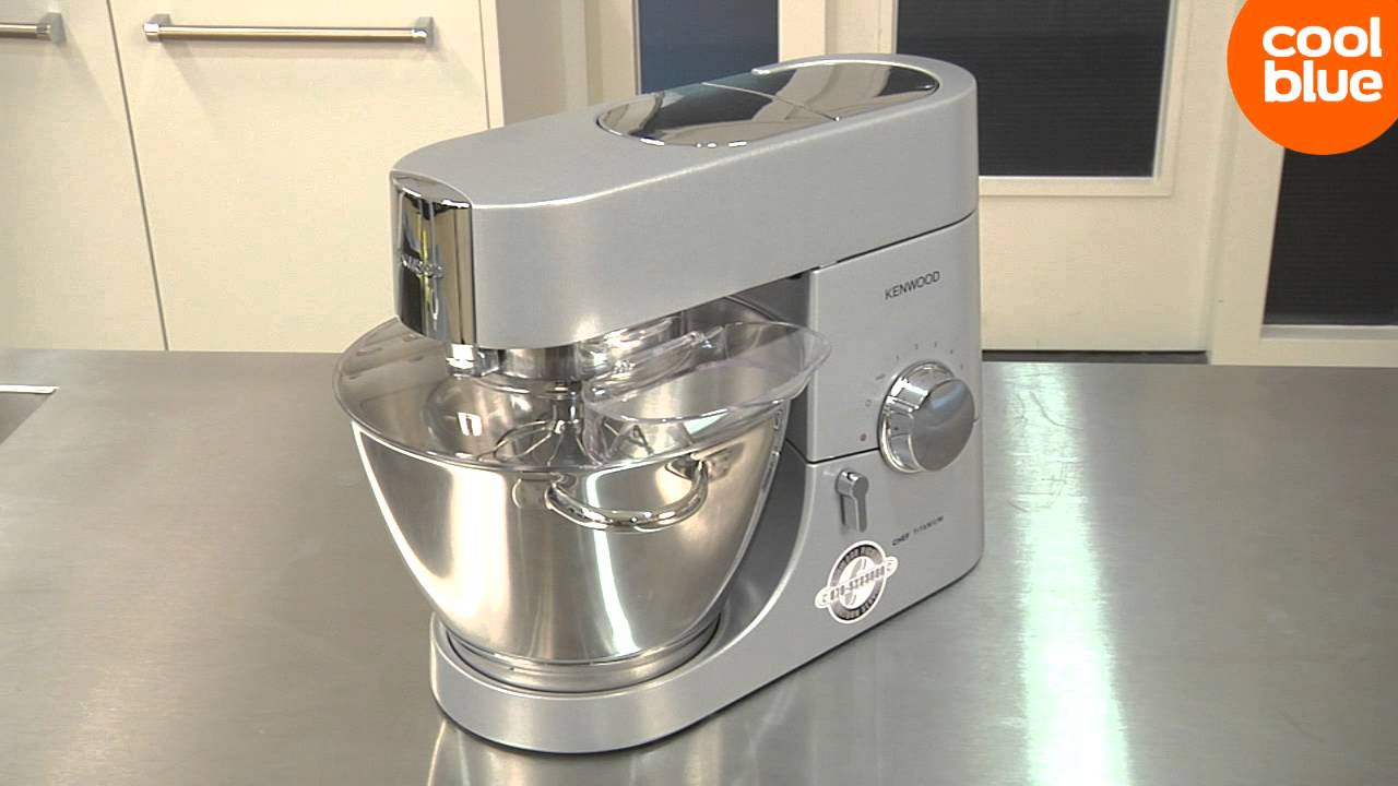 Kenwood KMC010 Chef Titanium keukenmachine videoreview en unboxing (NL/BE) - YouTube