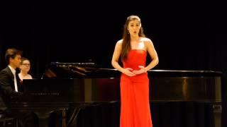 Jessica Pray sings Dolente imagine di Fille mia by Vincenzo Bellini