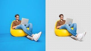 Adobe Photoshop | Обтравка изображения | Тень на прозрачном слое