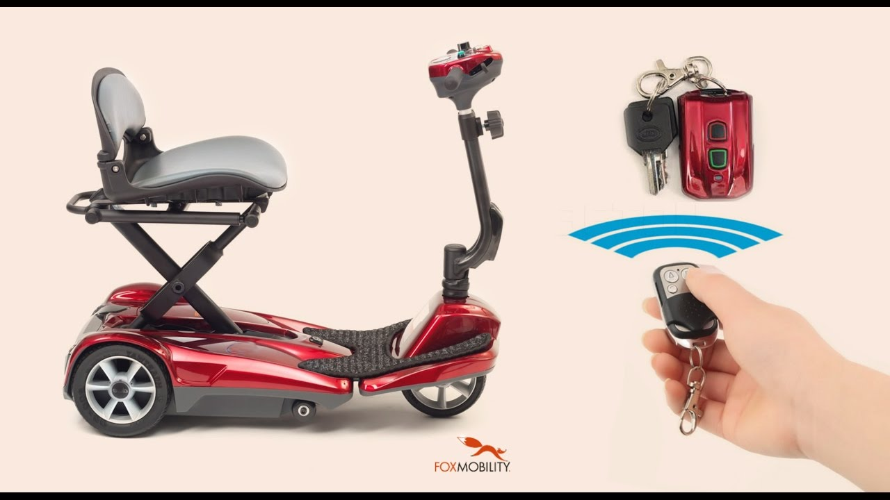 Let U0026 39 S Explore The Urban Fox Efold Cub  Remote Controlled  Auto-folding Mobility Scooter