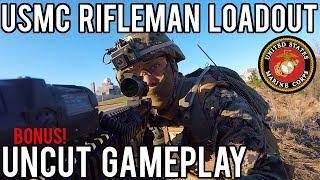 USMC Rifleman Airsoft Loadout from Milsim West: Seize Grozny | Bonus Uncut Gameplay