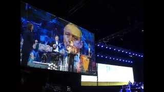 ANDRE RIEU IN ORLANDO 2013- POLYUSHKO POLYE По́люшко-по́ле Balalaika балалайка Russian