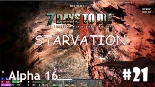 7 Days to Die (Alpha 16 + Starvation) #21 - Урановая руда