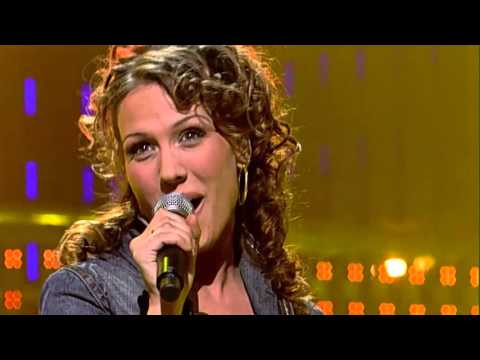 "Floortje singing ""Paid My Dues"" by Anastacia - Liveshow 5 - Idols season 3"