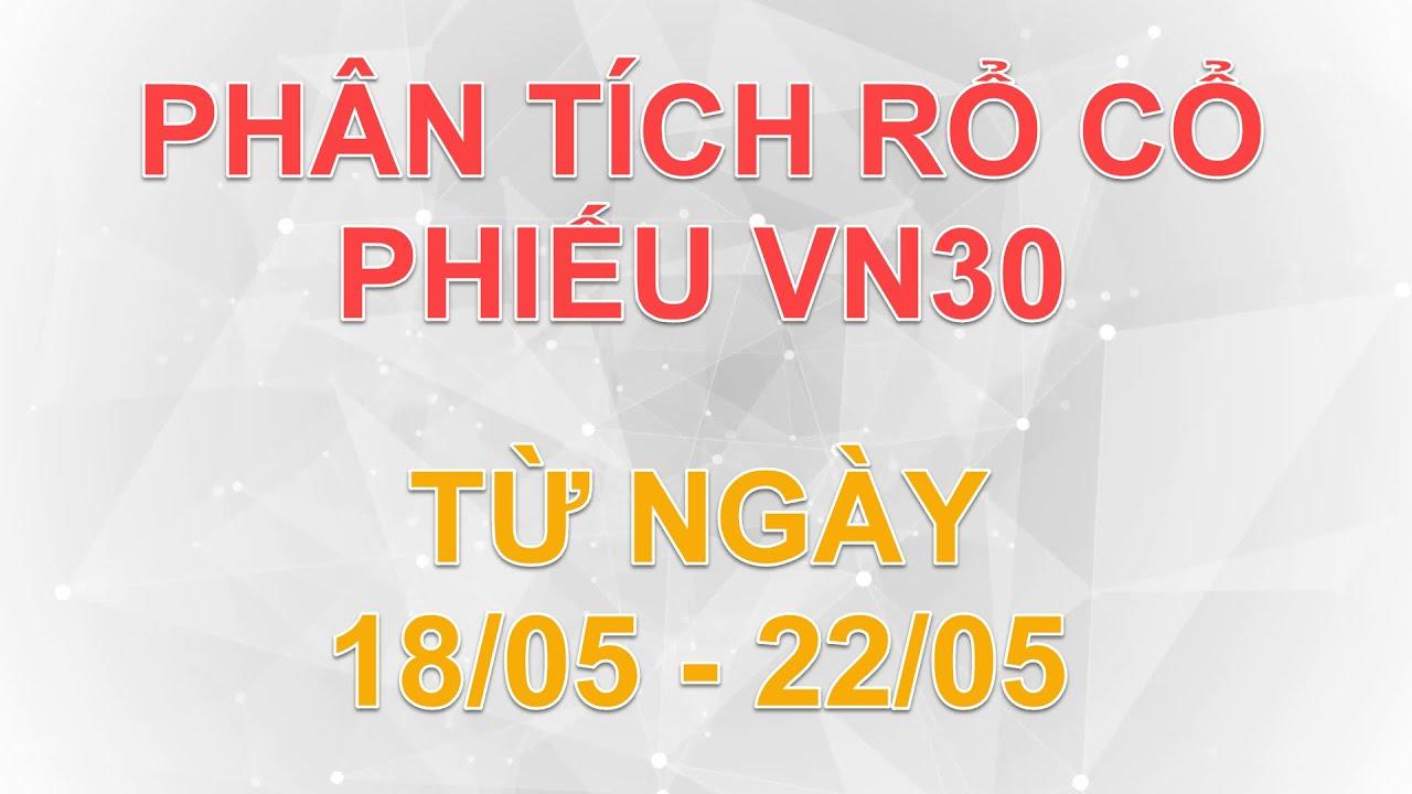 Phân tích rổ cổ phiếu VN30 từ ngày 18/05 đến 22/05 | Lương Tuấn
