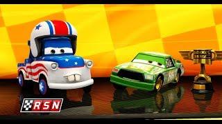 Şimşek McQueen Örümcek Adam Arabalar 3 Oyununda Yeni Yarışlara Hazırlanıyor Çizgi Film İzle