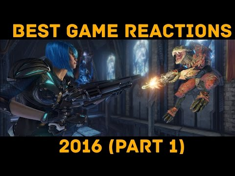 Best Game Reactions 2016 - Part 1