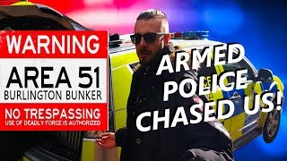 UK AREA 51 WE WENT BACK (ARMED MILITARY POLICE ARRIVED)