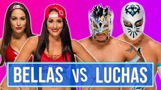 WWE 2K19 PC Mods - Kalisto & Sin Cara vs. Nikki Bella & Brie Bella - RAW 2018
