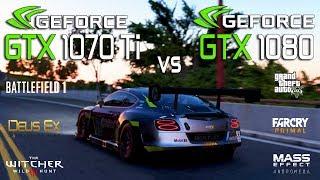 GTX 1070 Ti vs GTX 1080 Test in 7 Games