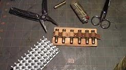 making ammo belt slide