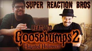 SRB Reacts to Goosebumps 2: Haunted Halloween Trailer
