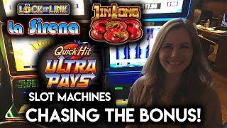 $700 VS Loteria, Jin Long and Quick Hit Slot Machines! Chasing that BONUS!