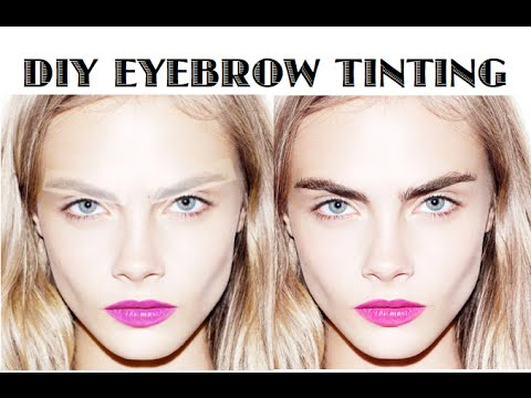 How To Tint Your Eyebrows - DIY Easy At Home Tutorial | skip2mylou ...