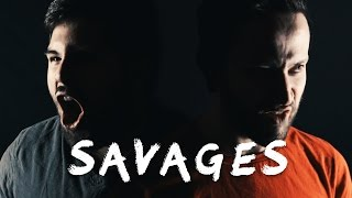 SAVAGES - Disney's Pocahontas (METAL COVER) Jonathan Young & Caleb Hyles