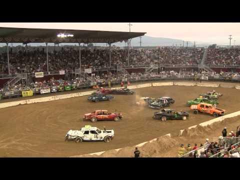 Utah County Fair Demolition Derby 2012 Heat Three Part 2