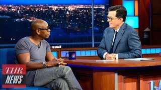 """Dave Chappelle Discusses Donald Trump on 'Late Show': """"He's a Polarizing Dude"""" 
