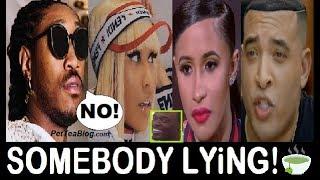 Future Denies Nicki Stopped Cardi Bag, Jason Lee a Liar with RECEiPTS ? ☕ (Video)