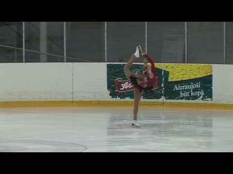 Karina Rutlauka (LAT) SP, Latvian FS Championships 2009