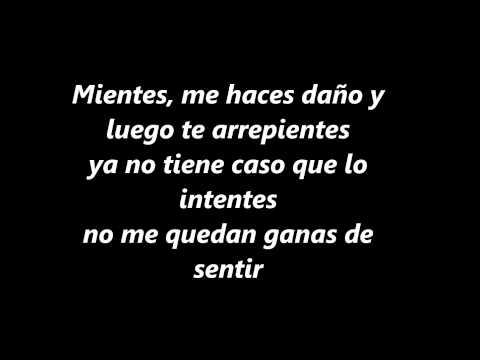 Mientes-Camila (con letra)